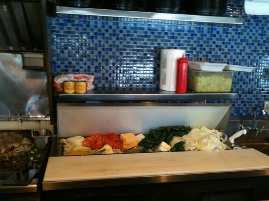 Nic's Grill: The Prep Area
