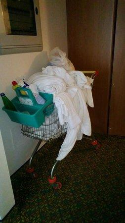 Hotel Ilma: Roomservice