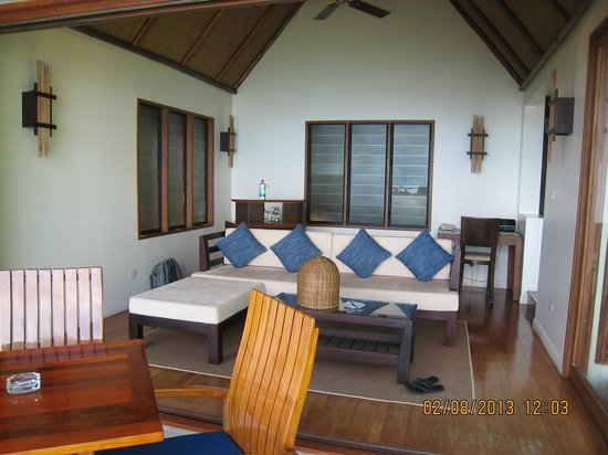 Royal Davui Island Resort: Lounge villa 1