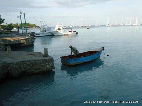 Hotel Bayahibe : Pescador