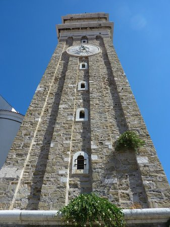 Koper Cathedral and Bell Tower: Looking up