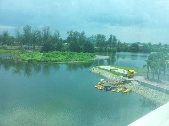 Prinzpark Terengganu: View from 3rd floor