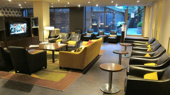 Amsterdam Marriott Hotel: lounge