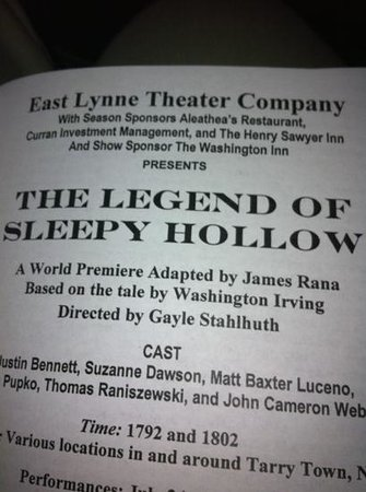 East Lynne Theater Company : Unexpected pleasure :-)