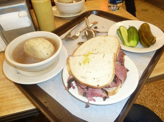 For Your Brain and Belly: Katz's Deli