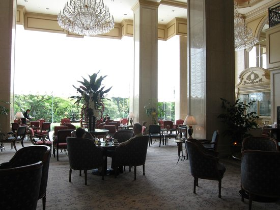 RIHGA Royal Hotel Tokyo: The lobby bar