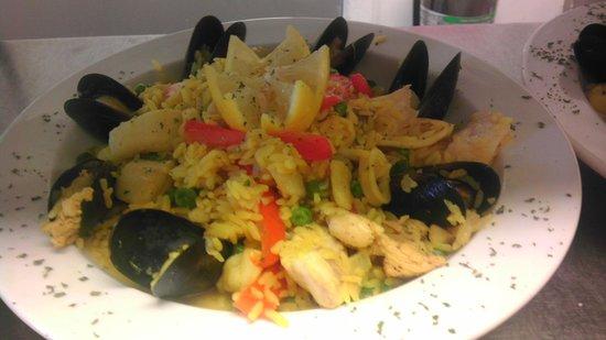 Delicia's Latin American Cuisine : Arroz Con Mariscos