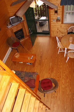 Cabins On Laurel Creek : View from the loft