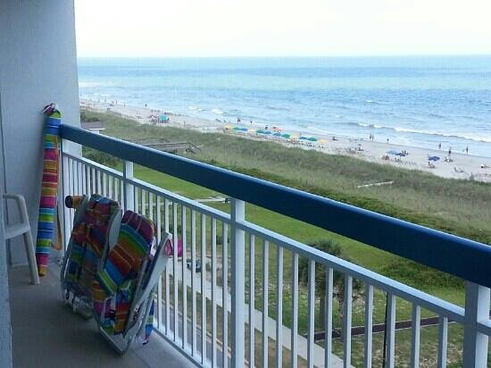 Forest Dunes Resort : Large Balcony