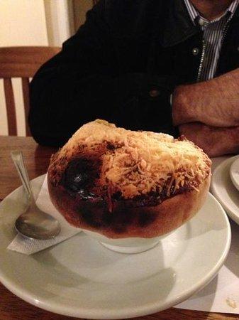 Bocatta: sopa de cogumelos