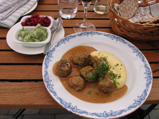 Wardshuset Ulla Winbladh : Yes - Swedish meatballs!