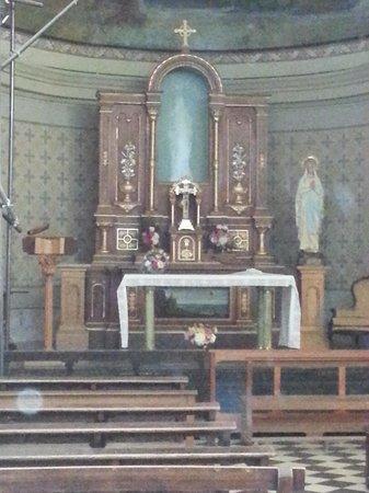Alta Gracia, Argentina: virgen de Lourdes