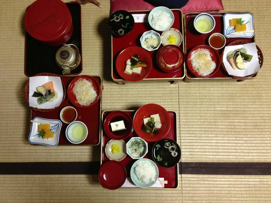 Rengejoin Temple : Dinner