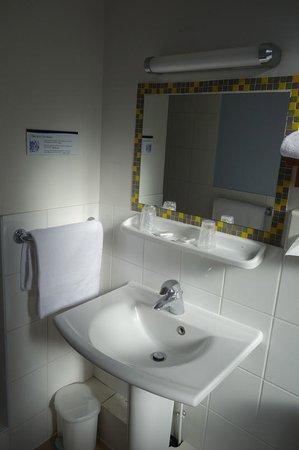 Hotel de La Cote Fleurie: salle de bain