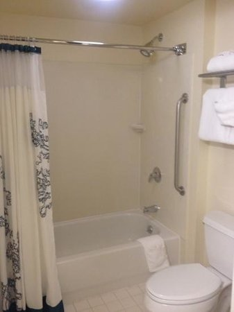 Residence Inn San Diego Downtown: Standard bathroom in studio