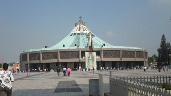 México. Basílica de la Virgen de Guadalupe. - Picture of Basilica ...