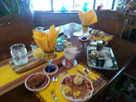 Hacienda del Desierto Bed and Breakfast: Splendid breakfasts