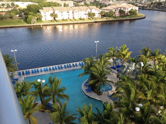 Z Ocean Hotel South Beach: Views from room