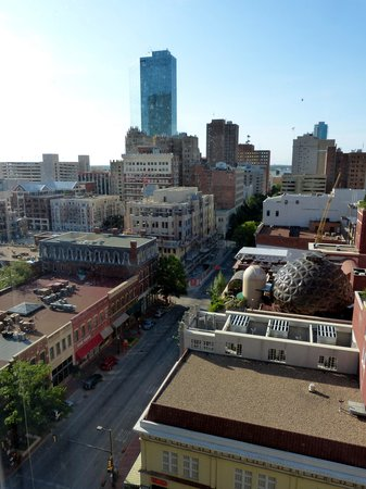 The Worthington Renaissance Fort Worth Hotel: View from Room 1020