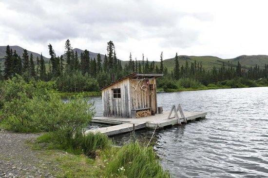 Adventure Denali: The Sauna