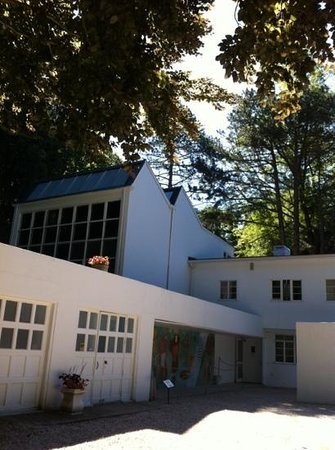 Frelinghuysen Morris House & Studio : a beautiful day