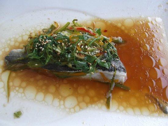 La Perle: 'filet of sea' - dorado