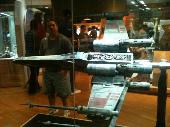 Indiana State Museum: Star Wars exhibit.