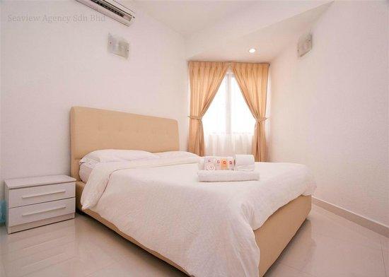 Sri Sayang Resort Service Apartment: Seaview Agency @ Sri Sayang Apartment (Bedroom)