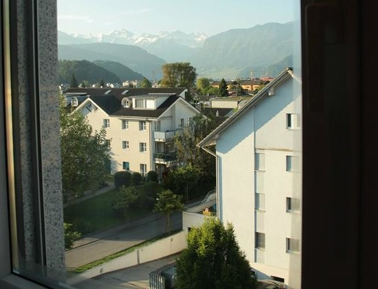 ibis Luzern Kriens: Room`s view