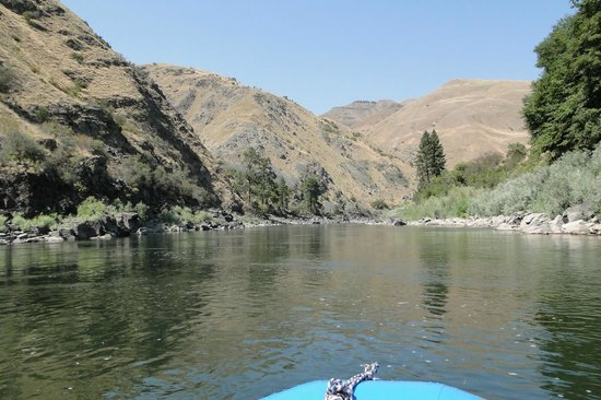 Salmon River Challenge- SRC: Quiet section of the Salmon River