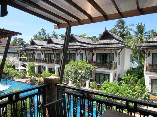 Railay Village Resort: Blick aus dem Zimmer auf den Pool
