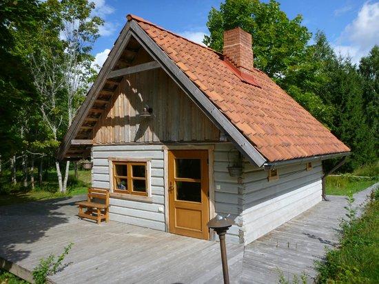 Karlamuiza Country Hotel: Sauna building