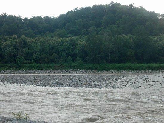 Aranya Safari Resort: Kosi river side2