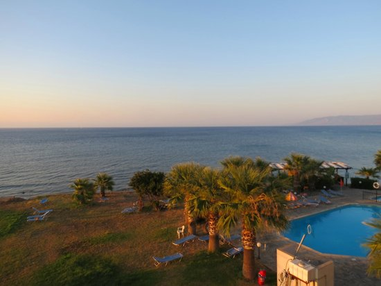 Souli Beach Hotel : Dalla camera