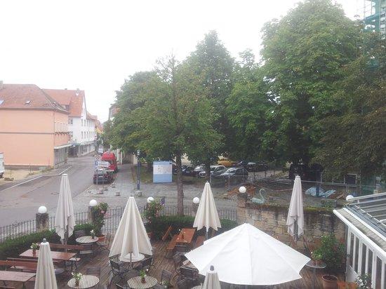 Hotel-Restaurant Schwanen: Biergarten