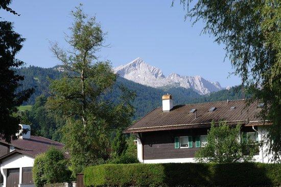 Leiners Familienhotel : Blick vom Balkon
