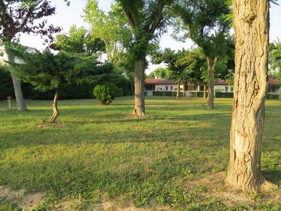 Villaggio San Francesco : parco antistante abitazione
