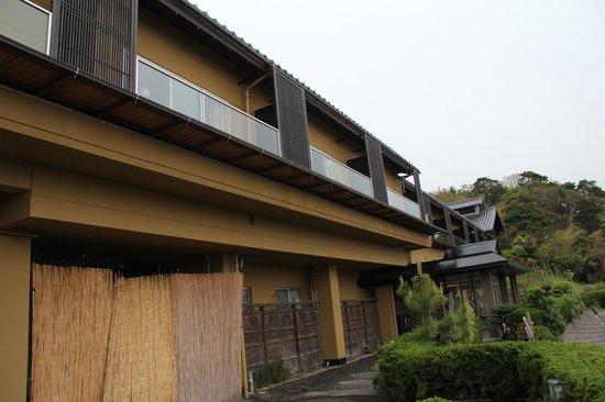 Oyado Sumihei: 本館建物の外観です