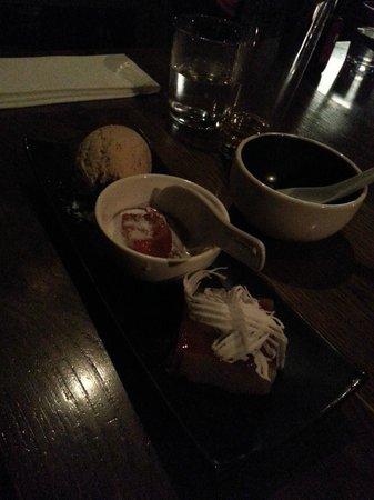 Longrain: Banana pudding dessert was like a banana Broulee!