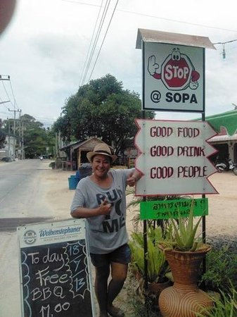 Stop at Sopa: Sopa the best cook