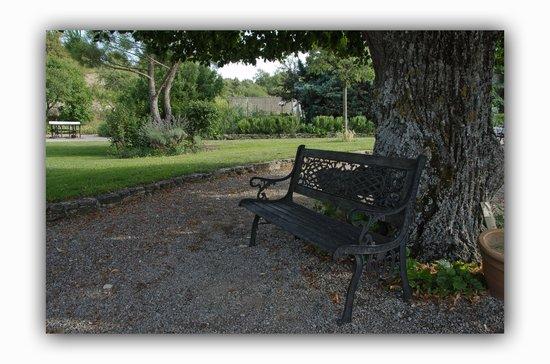 Domaine Grange Neuve: Aaaah, la sieste ombragée !