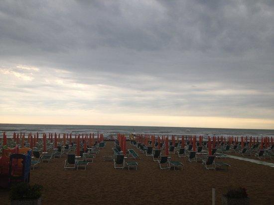 Hotel Corallo: Vista mare