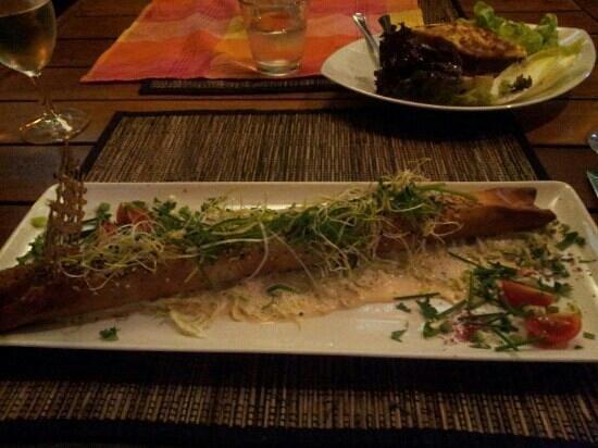 """""""La Mandoline"""". : croustillant aux crevettes"""