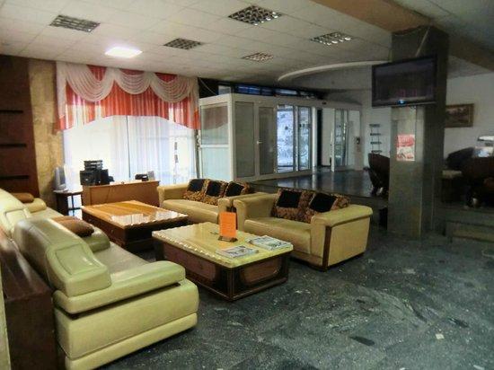 Kozatskiy Hotel: Part of Reception Area