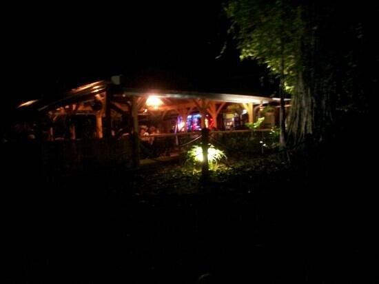 """""""La Mandoline"""". : vue de nuit"""