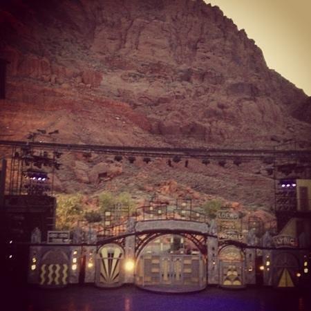 Tuacahn Amphitheatre: wow!