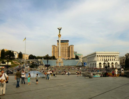 Kozatskiy Hotel: Kiev - Independence Square