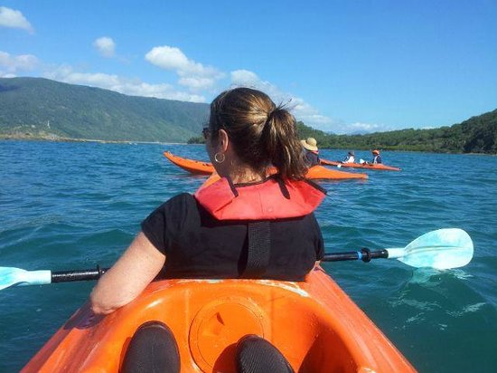 Palm Cove Watersports: Kayaking to Double Island