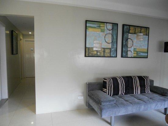 Z Pad Residences: Semi-private living space