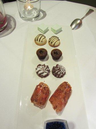 Restaurant Pierre : Mignardises